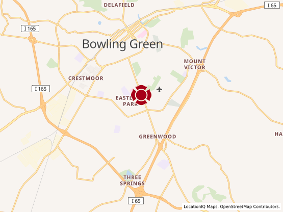 Map of Bowling Green #1176