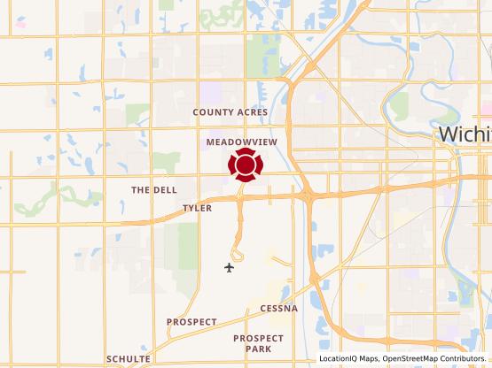Map of Ridge Road #1353