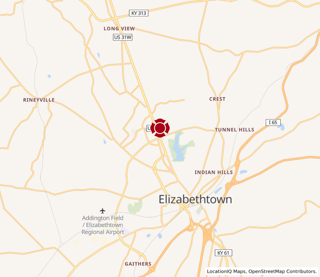 Map of Elizabethtown #1021