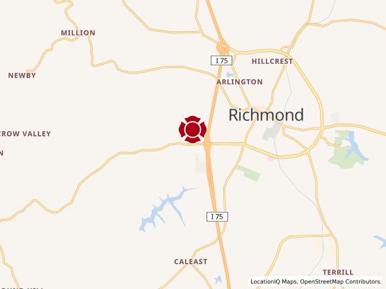 Map of Richmond Center #996