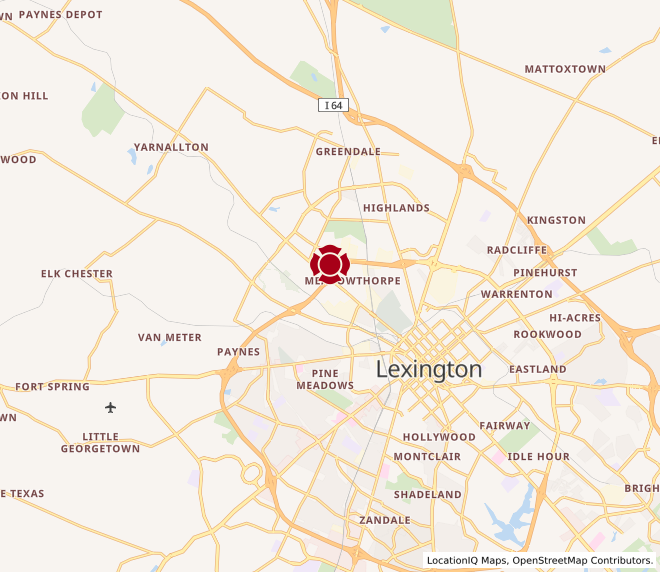 Map of Leestown #573