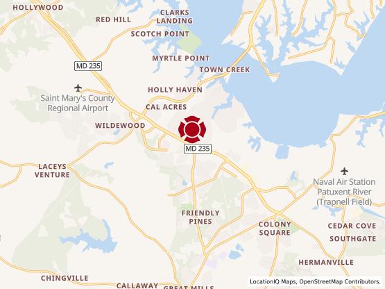 Map of Lexington Park #938
