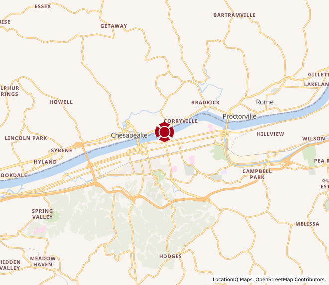 Map of Marshall University #1221
