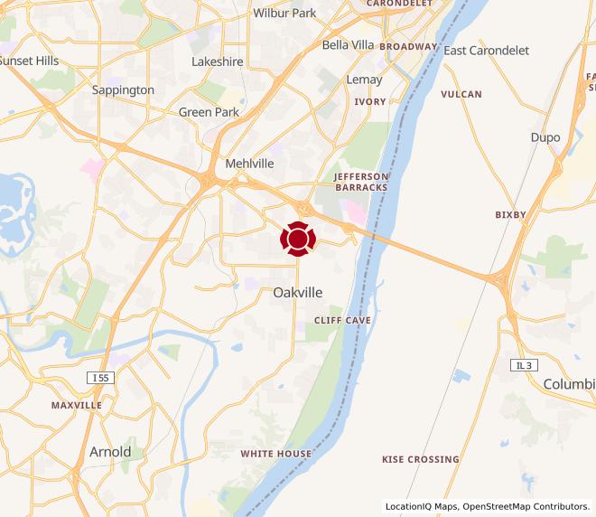 Map of Oakville #1015