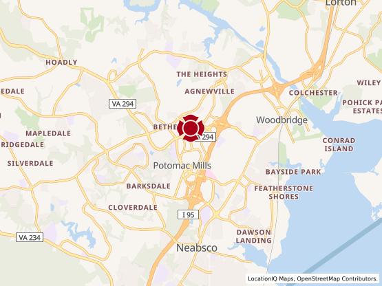 Map of Woodbridge #610