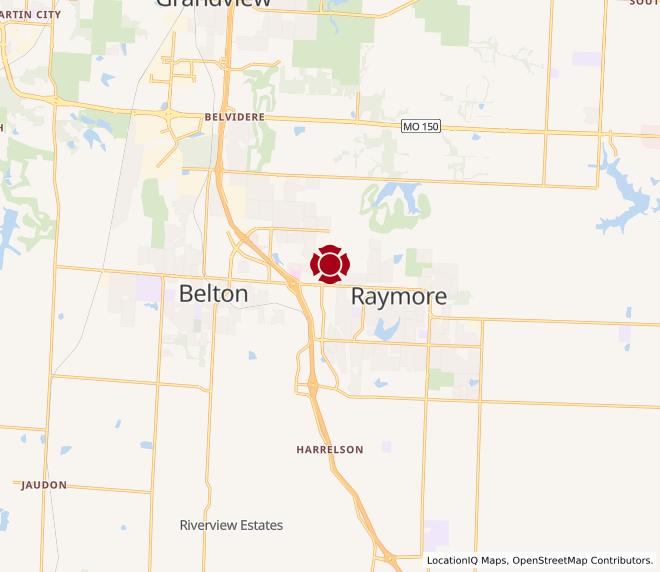 Map of Raymore Gateway #1602