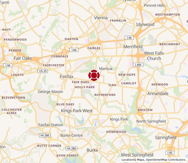Map of Turnpike - Fairfax #644
