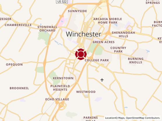 Map of Apple Blossom Corners #1622