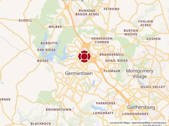 Map of Century Blvd. #702
