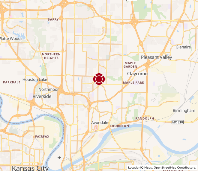 Map of Antioch Mall #553