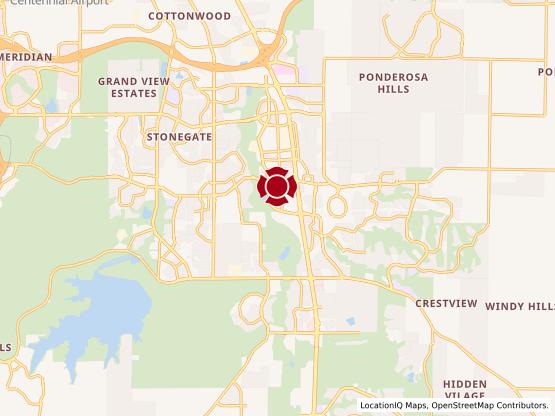 Map of Twenty Mile Rd. #570