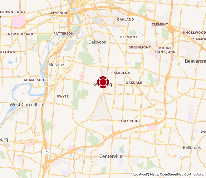 Map of Kettering #945