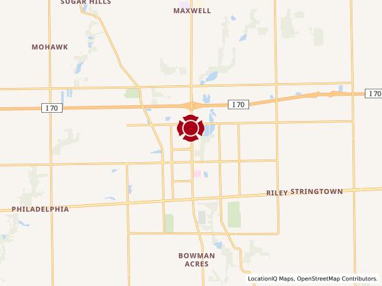 Map of Harlan Center #1066