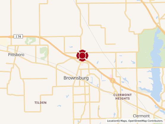 Map of Brownsburg Village #802