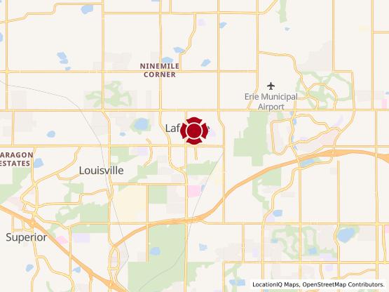 Map of Lafayette #1097