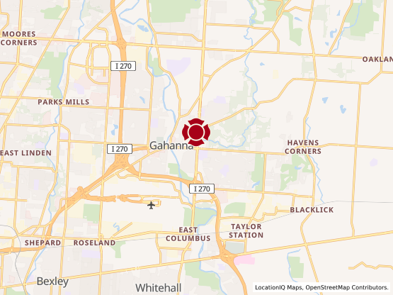 Map of South Gahanna #680