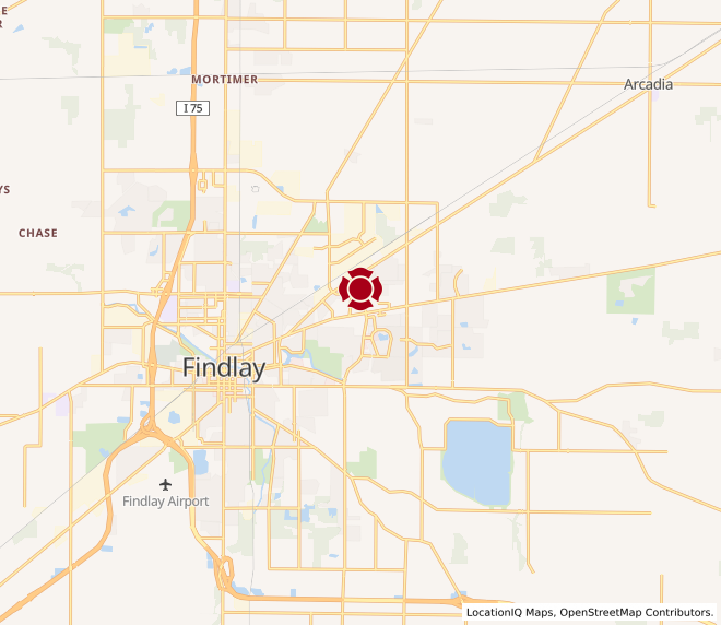Map of Findlay #1213