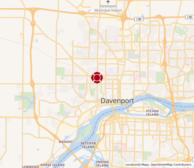 Map of Division QC #1425