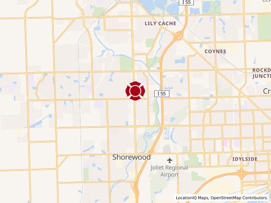 Map of Joliet Commons #1225