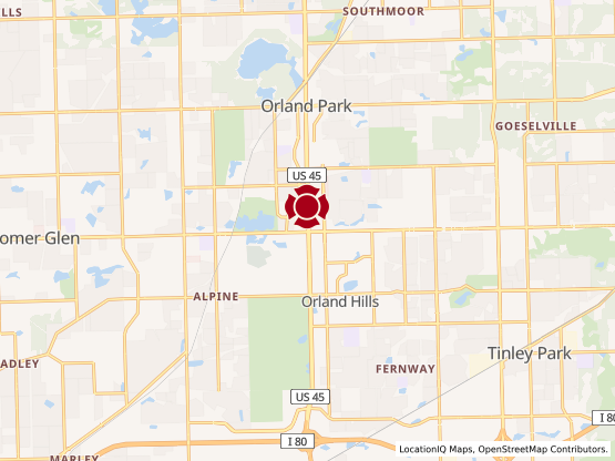 Map of Orland Park #741