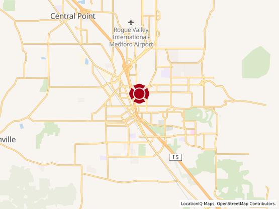 Map of Medford Center #1518