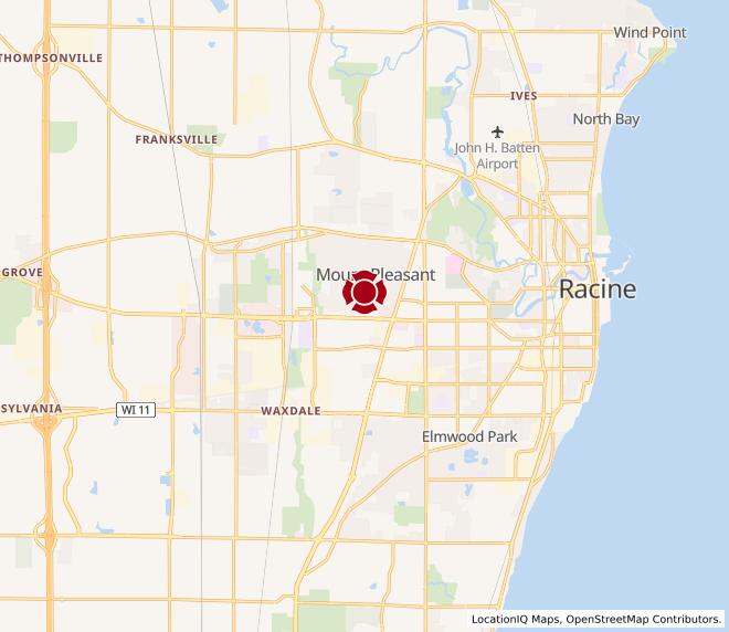 Map of Racine #1251