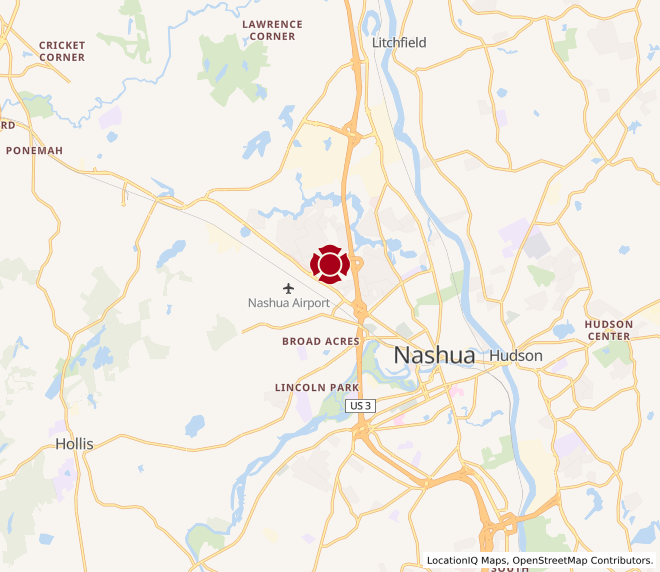 Map of Nashua North #869