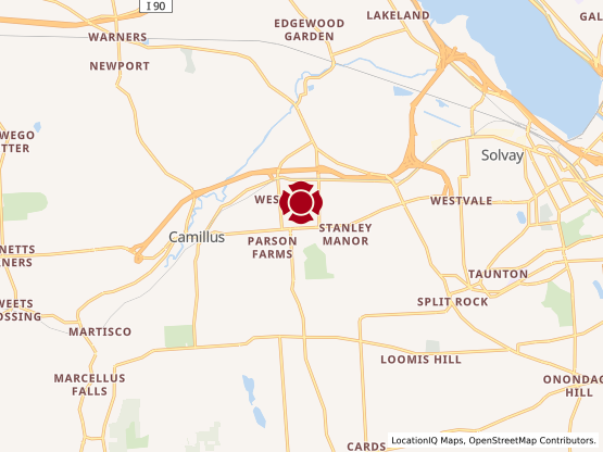 Map of Camillus #1266
