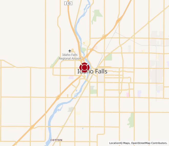 Map of Utah Avenue #1719