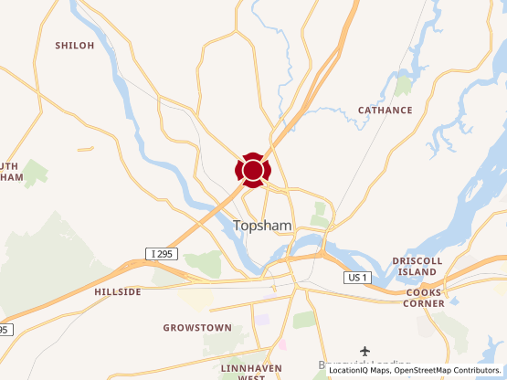 Map of Topsham Fair #1014