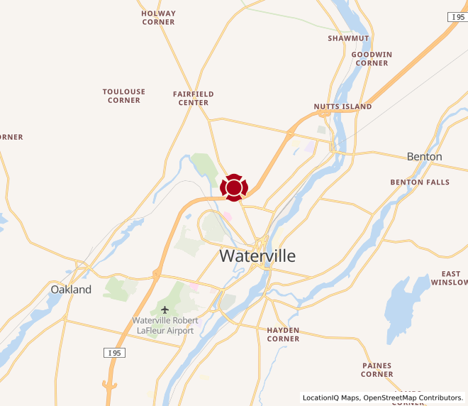 Map of Waterville Commons #1526