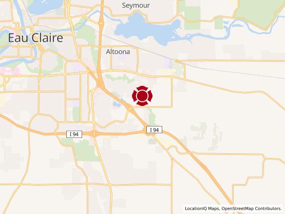 Map of Eau Claire #971