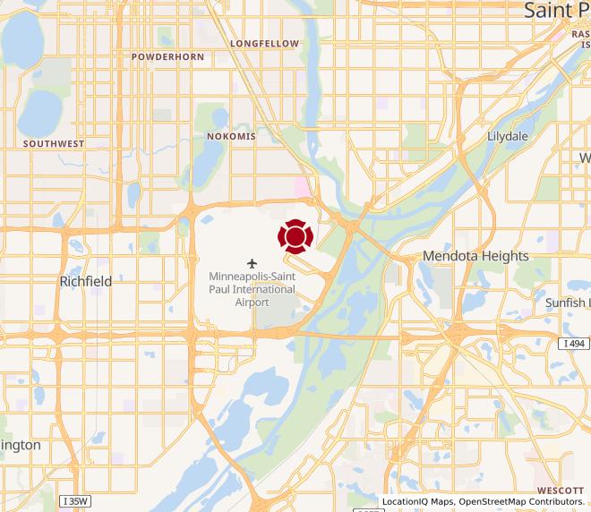 Map of Minneapolis-Saint Paul Airport #90006