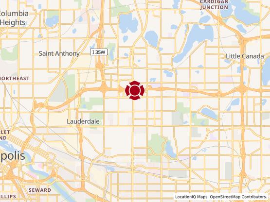 Map of Roseville Har Mar Mall #1065