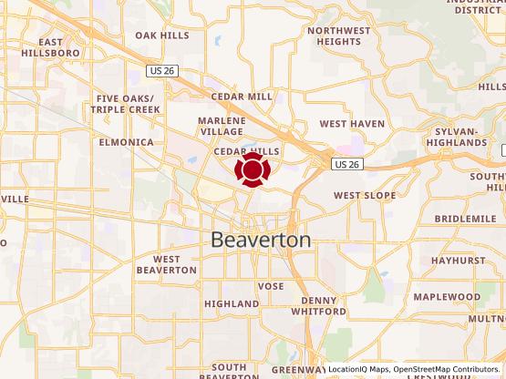 Map of Cedar Hills #1062