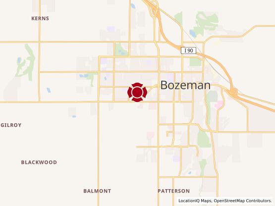 Map of Bozeman Gateway #1146