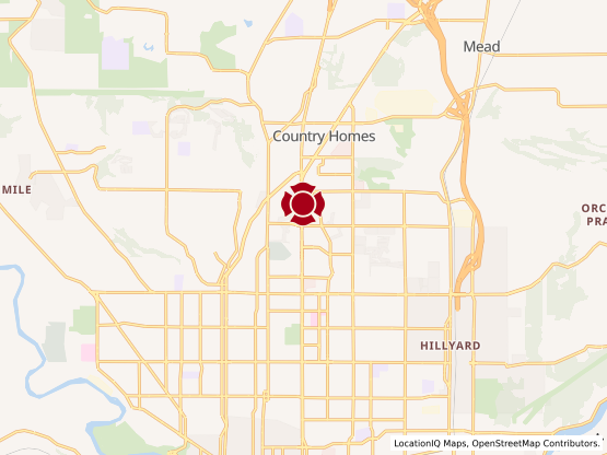 Map of Northgate Center #1509