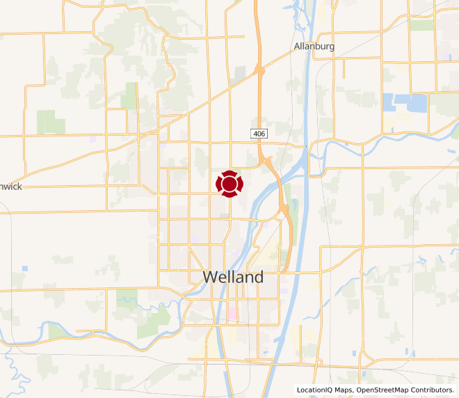 Map of Welland #10056 - Coming Soon