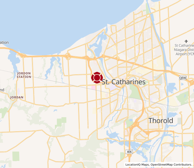 Map of St. Catharines #10032