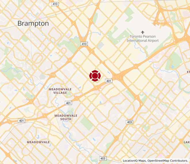 Map of Mississauga #10008