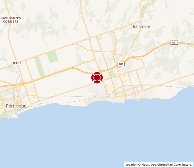 Map of Cobourg #10053 - Coming Soon