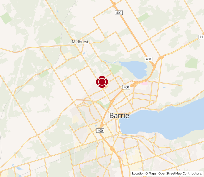 Map of Bayfield #10022
