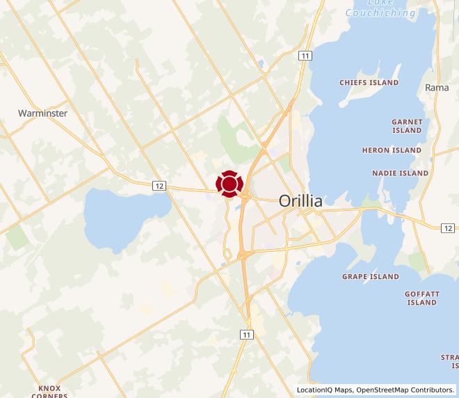 Map of Orillia #10048