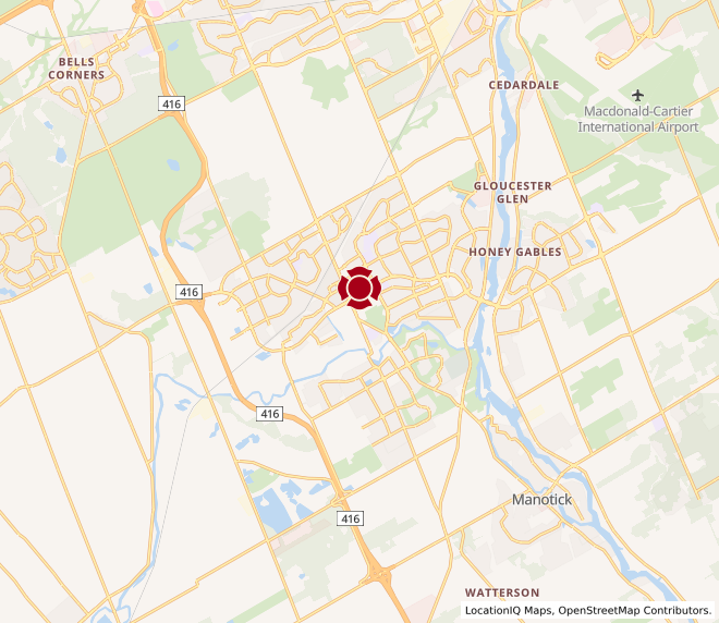 Map of Barrhaven #10002